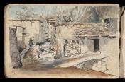نقاشی قدیمی از کرند